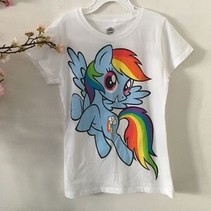 My Little Pony Short Sleeve Graphic Tee (Girls) L
